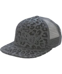 Kšiltovka Vans Beach girl trucker leopard black/black ONE SIZE