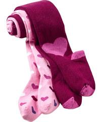 bpc bonprix collection Strumpfhosen (2er-Pack) in rosa für Mädchen von bonprix