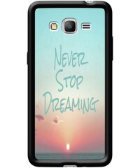 The Kase Art by Ally - Coque pour Samsung Galaxy Grand Prime G530 - noir