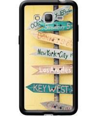 The Kase Laura Ruth - Coque pour Samsung Galaxy Grand Prime G530 - noir