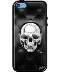 The Kase iPhone 5c - Coque en cuir - noir
