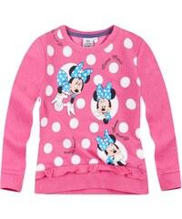 Disney Minnie Sweatshirt pink in Größe 104 für Mädchen aus 60 % Baumwolle 40 % Polyester