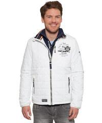 Bílá bunda s vycpávkou|XL Camp David 498388