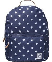 The Pack Society Tagesrucksack blue/white