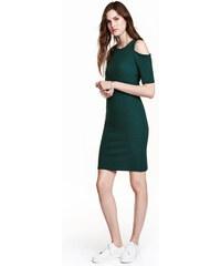 H&M Šaty s průstřihy na ramenou