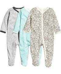 H&M Balení: 3 pyžama