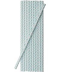 Bloomingville Papírové slámky Mint dots