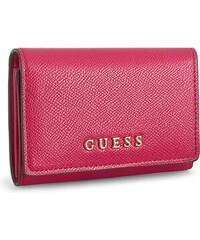 Malá dámská peněženka GUESS - Isabeau SWISAB P6416 FUC