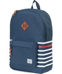 Herschel Heritage sac à dos navy offset stripe/veggie tan