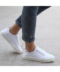 Lesara Plateau-Sneaker Unifarben - 35