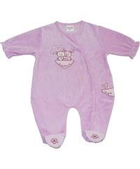 Schnizler Baby - Mädchen Schlafstrampler Schlafanzug Nicki Abenteuerland