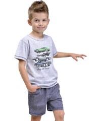 Taro Dětské pyžamo Natan šedé
