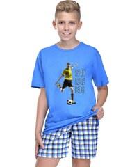 Taro Chlapecké pyžamo Moro modré