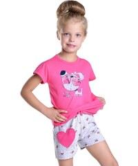 Taro Dívčí pyžamo Hanička růžové