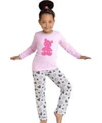 Taro Dívčí pyžamo Fifi medvídek
