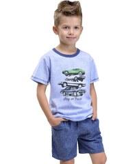 Taro Dětské pyžamo Natan modré