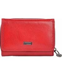 Famito Dámská kožená peněženka 4511 Flamengo červená