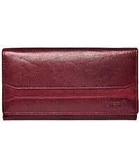 Lagen Dámská kožená peněženka W-2025 vínová