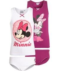 Disney MINNIE 2 PACK UnterwäscheSet berry/weiß