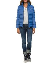 Sportovní prošívaná modrá bunda|M Soccx 490597