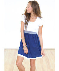 Dámské modré šaty SHOKO Steddyblue