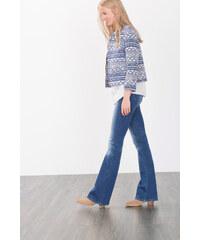 Esprit Rozšířené džíny s roztrhanými efekty