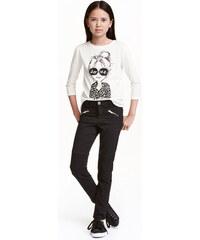 H&M Motorkářské kalhoty