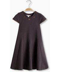 Esprit Šaty z pevného žerzeje, výšivka a prýmky