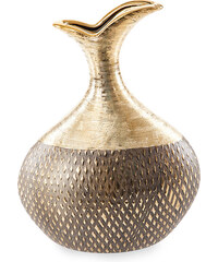 MADAME dekorativní váza zlatá 21X11X30 cm Mybesthome
