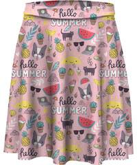 Mr. GUGU & Miss GO Skater Skirt Hello Summer