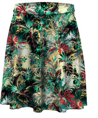 Mr. GUGU & Miss GO Skater Skirt Tropical Jungle