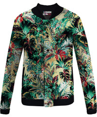 Mr. GUGU & Miss GO Baseball Jacket Tropical Jungle