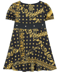 Young Versace Bedrucktes Kleid aus Seide