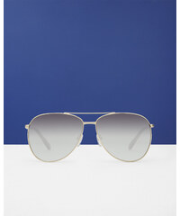Ted Baker Fliegerbrille mit Stahlrahmen Gold