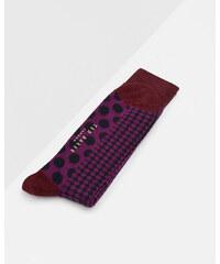 Ted Baker Gepunktete Socken Lila