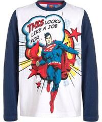 Warner Brothers SUPERMAN Langarmshirt weiß