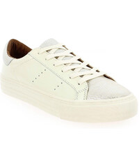 Baskets Femme No Name en Cuir Blanc