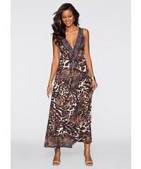 BODYFLIRT boutique Šaty s leopardím potiskem bonprix