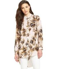 CLOSET Oversized košile s palmovým vzorem
