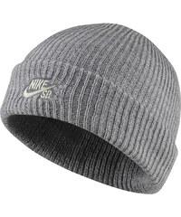 Nike SB FISHERMAN BEANIE tmavě šedá MISC