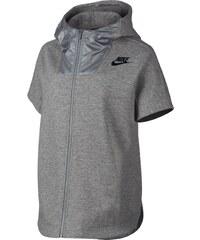 Nike SPORTSWEAR ADVANCE 15 FLEECE HOODIE šedá S
