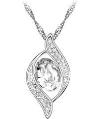 Lesara Halskette mit Swarovski Elements-Anhänger - Weiß