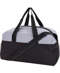 Lesara Zweifarbige Sporttasche - Grau