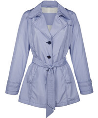 Trench kabát Concept K modrá-bílá
