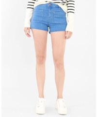 Micro-short taille haute bleu ciel, Femme, Taille 34 -PIMKIE- MODE FEMME