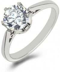 Eppi Platinový zásnubní prsten s diamantem Vale