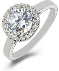 Eppi Platinový zásnubní prsten s diamanty Boly
