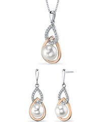 Eppi Stříbrný set s perlami Racin