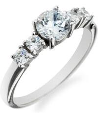 Eppi Zásnubní prsten s pěticí diamantů Hemendra