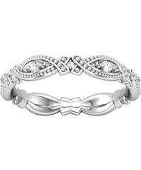 Eppi Zlatá vintage obroučka zdobená diamanty Namrata